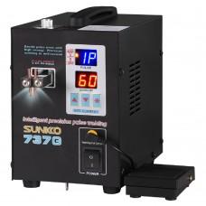 Sunkko 737g LED Dual Pulse Spot Welder 18650 Battery (800a)