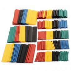 Set 328 Piezas Tubos Termoretractiles 8 Tamaños 5 Colores