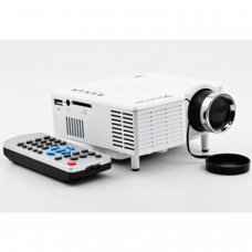 1080p Mini Projector UC28+ AV/ USB/ SD Card/ VGA/ HDMI Input