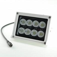 Foco a 12Vcc Proyector LED  10W 6500K Luz brillante y sensor de luz