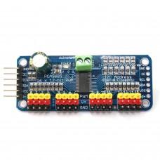 Controlador servos 16 canales de 12 bits pwm I2c pca9685 [COMPATIBLE ARDUINO]