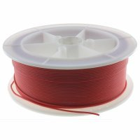 Flexible Silicone Cable, 22 AWG section resistant up to 200 ° and 600v RED