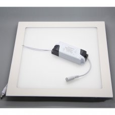 24W LED Panel Light square- Ceiling Flat Panel Downlight Lamp 6000k cold white