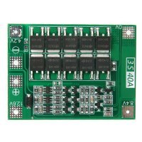 3S 40A Enhanced Version Protection Board PCB for Lithium Battery