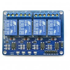 Kit 4 Reles  4-Canales 5V para Arduino[Compatible Arduino]