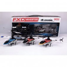 4 Channel Gyroscope System Metal Frame IR Helicopter with LED lights