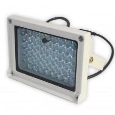 Foco de infrarrojos para visión nocturna de 54 LED exterior a 50m camara seguridad (sensor de luz)