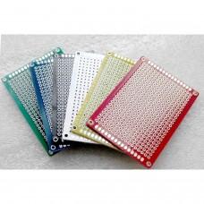 Placa baquelita prototipos 5cmx7cm color VERDE