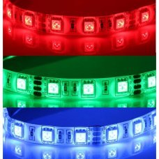 5Meters 60-LED/meter 5050 SMD Waterproof White Flexible Light Strip Power Saving Color REGULABLE RGB