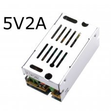 5v 2A Dc Universal Regulated Switching Power Supply 10w for CCTV, Radio, Computer Project, Led