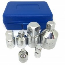 6pcs Adapter Nut Set 1/4'' 3/8'' 1/2'' to 3/4'' CarTool