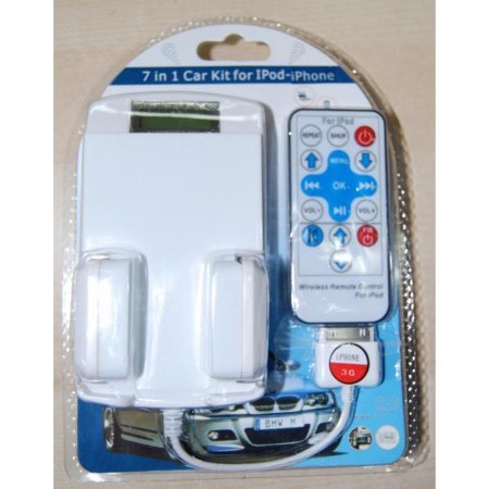 Kit de Coche 7 en 1 para iPod, Iphone,Iphone 3G y Itouch . ACCESORIOS IPHONE 2G  6.00 euro - satkit