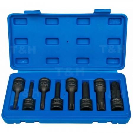 8pc Set 1/2 Conectores Llave Torx de Impacto T30-T80 HERRAMIENTAS AUTOMOCION  18.00 euro - satkit