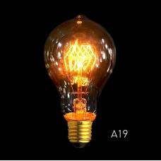 A19B Spiral E27 Filament Light Bulb 40W Edison Vintage Decorative Industrial