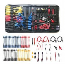 NEW Multifunction Automotive Circuit Tester Cable Kit containing 92 pieces of essential test accessories, cable and electrical testers and automatic diagnostic tools Cable Connectors Adapter Cables