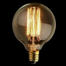 G95 Vertical E27 Filament Light Bulb 40W Edison Vintage Decorative Industrial