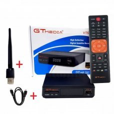 SINTONIZADOR TV SAT GTMEDIA-Freesat V7S HD  + usb wifi