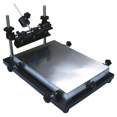 Manual Solder Paste Printer SMT - Stencil Printer size 440x320mm- Manual Stencil Printer Machine