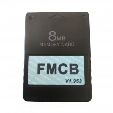 McBoot FMCB 1.953 Sony PlayStation2 PS2 8MB Memory Card OPL ESR HD MC Boot