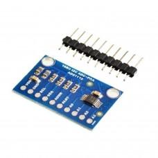 ADS1115 Pro Arduino Modulo ADC 4 canales 16 Bit I2C  con Amplificador  ganancia
