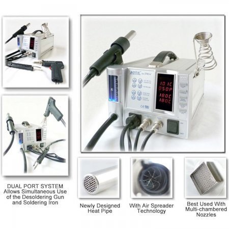 AOYUE INT2703A+ lead free repairing system (all in one) Soldering stations Aoyue 247.00 euro - satkit