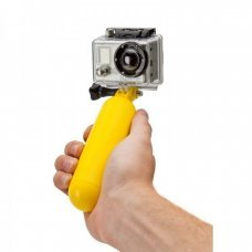 Aquatic Handheld Pole Arm Monopod Yellow Adapter for Gopro HD Hero 4/3/2/1 and SJ4000 and compatible