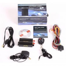 AUTO GPS/SMS/GPRS TRACKER TK103B CAR VEHICLE TRACKING SYSTEM WITH REMOTE CONTROL