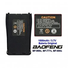 Bateria   3,7 v 1500 mah compatible con Baofeng BF-888S/777s/666s