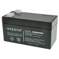 Rechargeable Lead Battery SY1.3-12 12V1.3Ah Alarms, Scales, Toys