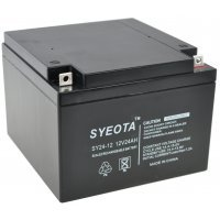 SEALED LEAD BATTERY SY24-12 12V/24Ah RECHARGEABLE 175x124x165mm