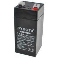 Rechargeable Lead Battery SY4-4 4V4Ah Alarms, Scales, Toys