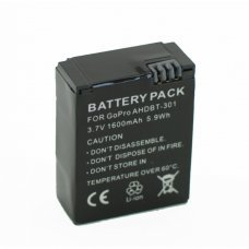Battery for Sports Camera GOPRO HERO 3 Y HERO 3+(AHDBT-301)