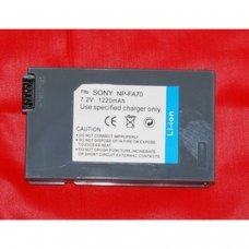 Battery Replacement for SONY NP-FA70