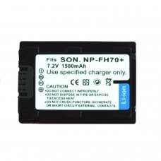 Battery Replacement for SONY NP-FH70 PARA SONY DCR-DVD, HC, SR Y HDR SERIES