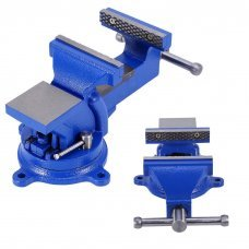 Workshop Bench Vice 100mm Clamp Bench Screw Rotating 360º