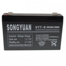 Lead  Battery 6V / 7Ah SY7-6 SY7-6 NP7-6 MP7-6 LC-R067R2P alarms, UPS
