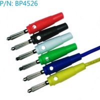 BP4526 Banana conector 4mm (5 colors aviable)