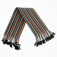 40pcs hembra hembra cable Du Pont Jumper Cable 30cm para Arduino Breadboard[Proyectos Arduino]