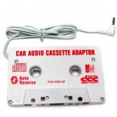 Car Cassette Adapter   for Apple iPod/Discman/Mp3 Player etc.