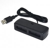 2 Player SNES Dual Port Controller Adapter for Steam Android PC MAC OTG USB