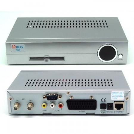 Receptor satélite digital DBOX 500-S (COMPATIBLE DREAMBOX) TV SATELITE | DREAMBOX  39.99 euro - satkit