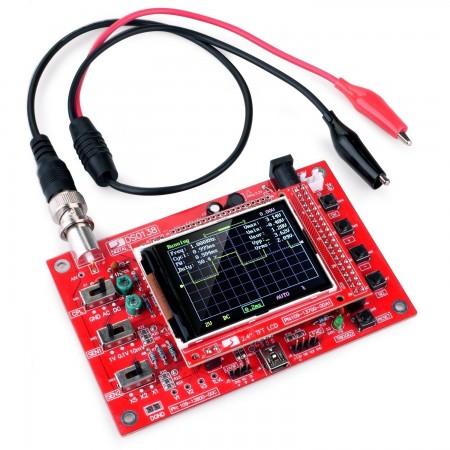Digital Oscilloscope DSO138 2.4  TFT Digital (1Msps) Assembled + Probe Oscilloscopes  20.00 euro - satkit