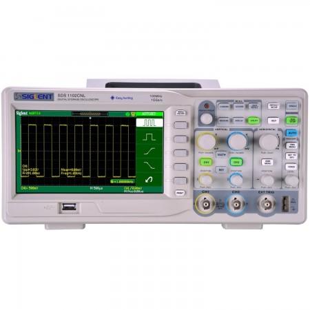 Digital Oscilloscope  Siglent SDS1102CNL 100mhz 7 Oscilloscopes Siglent 249.00 euro - satkit