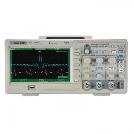 Digital Oscilloscope  Siglent SDS1202CNL+ 200mhz 7 Oscilloscopes Siglent 399.00 euro - satkit