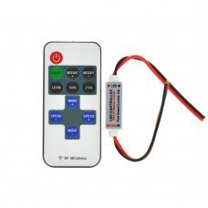 Led controller dimmer 12v remote control -single color strips
