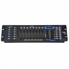 DMX 512 192 Channel Operator Console Controller For Stage DJ Party Lighting