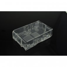 Enclosure clearfor Raspberry Pi Model A or B