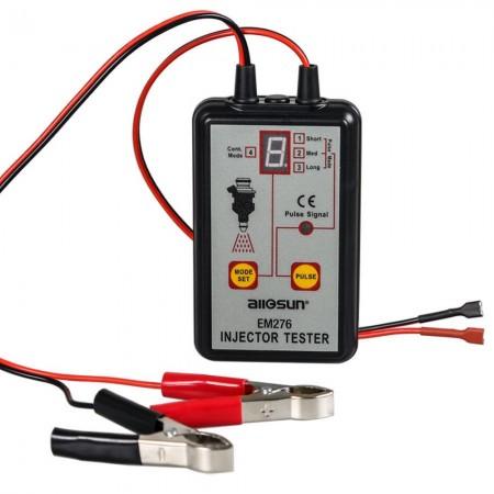 Probador de inyectores AllSun EM276  con 4 modos de pulso Herramienta de escaneo inyectores
