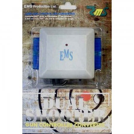 EMS Dual Shooter [PSX/PS2 -> PS3/PS2/PC] ACCESORIOS PSTWO  3.00 euro - satkit