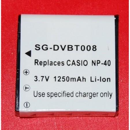 Batería compatible  CASIO NP-40 CASIO  2.38 euro - satkit